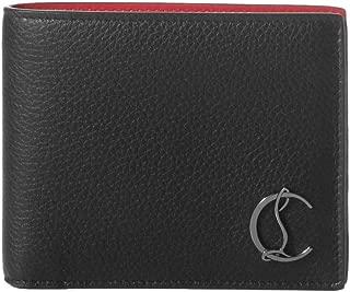 (クリスチャン ルブタン) Christian Louboutin 二つ折り財布 COOLCARD ブラック 3195053 B078 [並行輸入品]