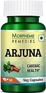 Morpheme Remedies Terminalia Arjuna 500mg Extract 60 Veg Caps