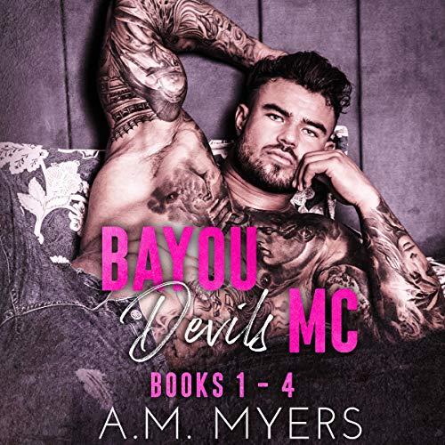 Bayou Devils MC: Books 1-4 Titelbild