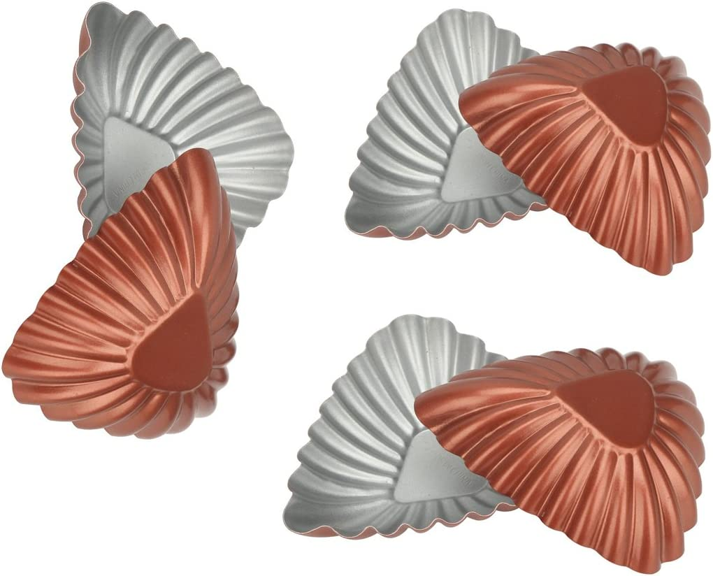 10 PcsNonstick Ripple Carbon Steel Egg Re 5% Sale Special Price OFF Shape Tart Mold Flower
