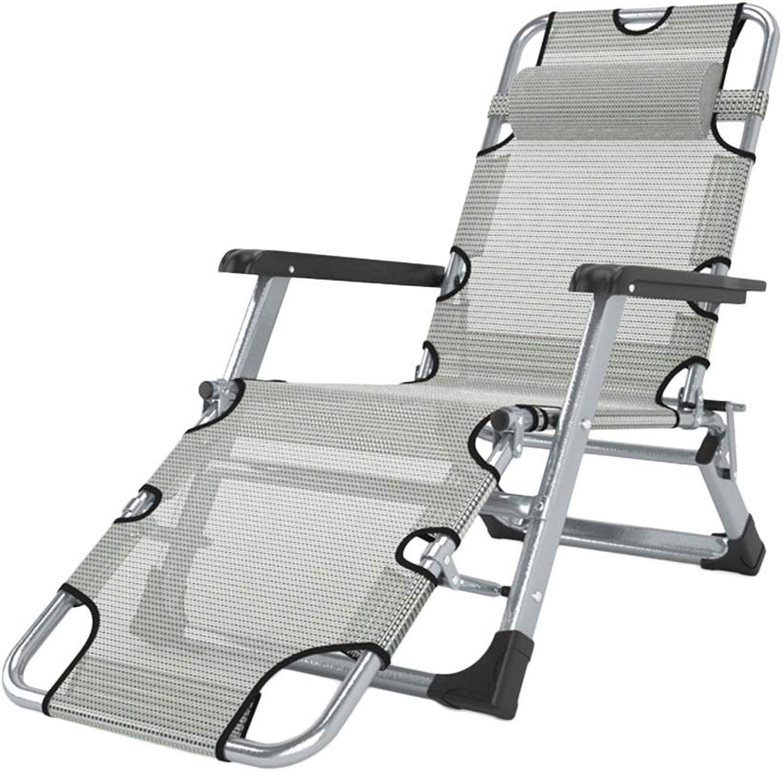 Liegestuhl Hochleistungspatio-Schwerelosigkeits-im Freienaufenthaltsraum-Stühle, übergre Justierbare Faltende Stützende Garten-Pool-Strand-Stühle, Unterstützung 200kg (Farbe   Style 2)