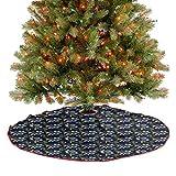 Ramo de flores y pájaros para fiestas de Navidad añade un aspecto cálido y encantador al árbol de 76,2 cm de diámetro.