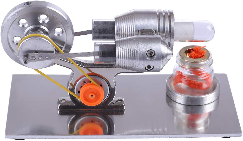 buena reputación Tosbess Stem Stem Stem Modelo de Motor Stirling de Baja Temperatura de Calor de Vapor Modelo Educativo Juguete  alta calidad y envío rápido
