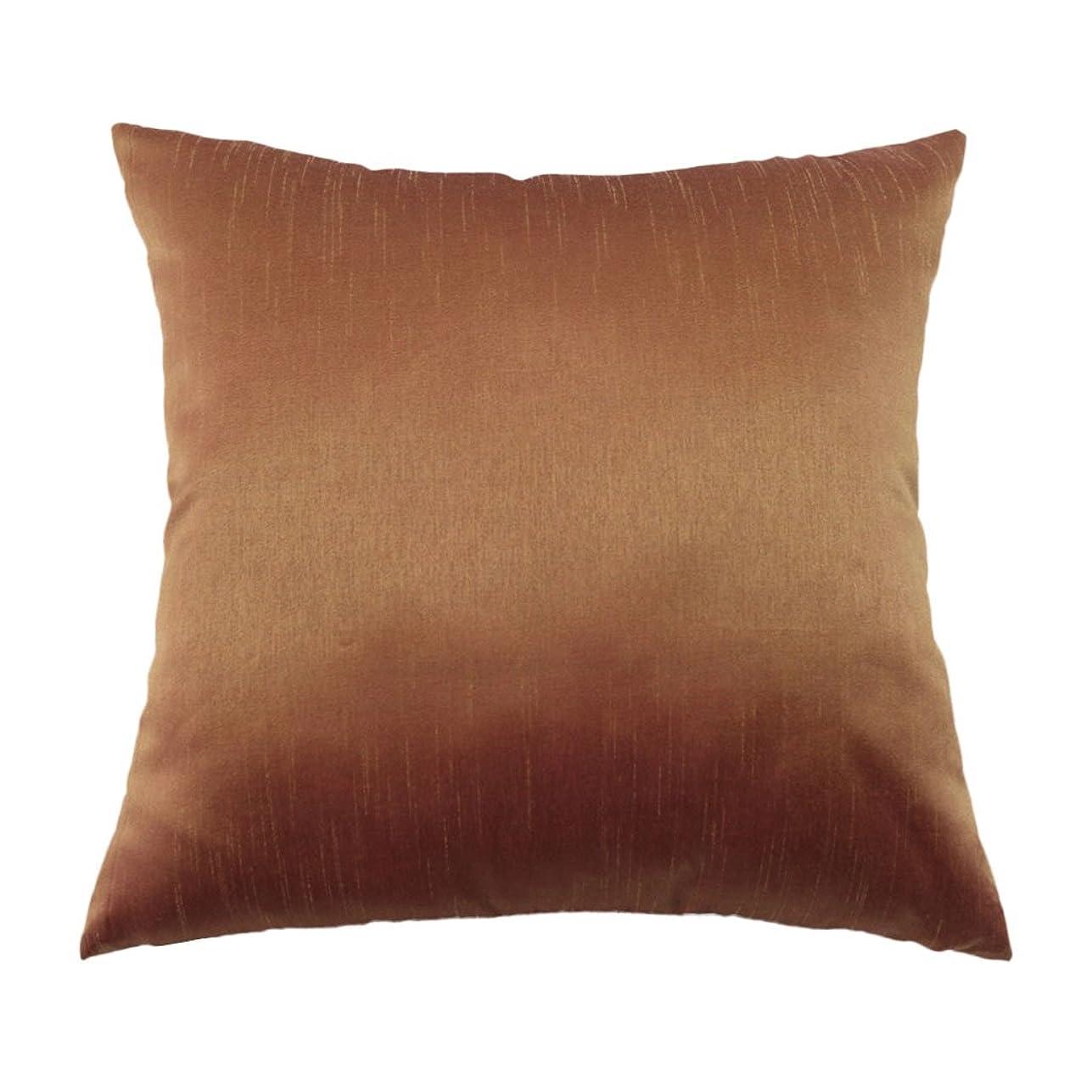 受け入れポゴスティックジャンプピッチャー枕カバー ピローケース 人工シルク製 柔らかさ 約45x45cm 全12色 - 2