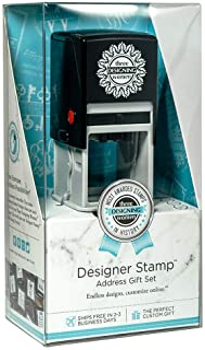 Three Designing Women Custom Designer Address Self-Inking Stamp