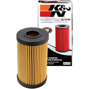 K&N Premium Oil Filter: Designed to Protect your Engine: Fits Select 2005-2020 LEXUS/TOYOTA/FORD (LC500, LX570, GS F, RC F, IS F, Camry, Land Cruiser, Sequoia, Tundra, Escape), PS-7018, Multi