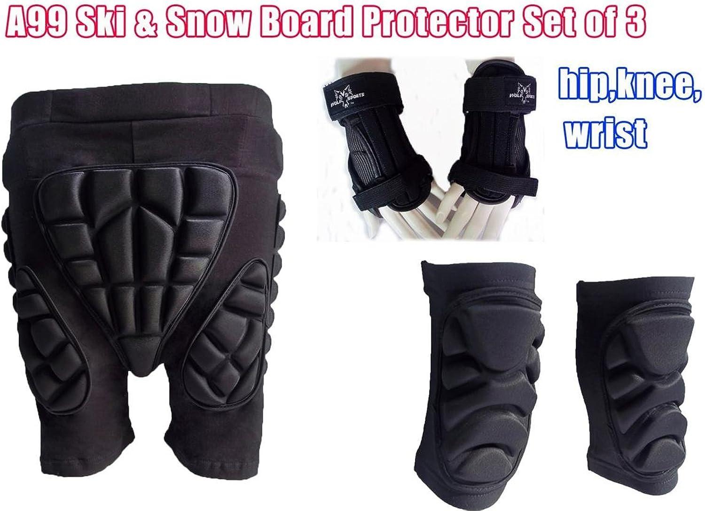Last A99 Ski Knee Support Butt Predection Bum Pad Brace