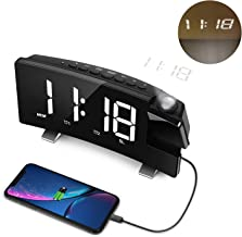 LC.IMEEKE Projection Alarm Clock, 7