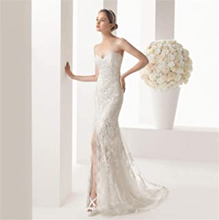 Wedding Dress Satin Lace Gown Jewel Lace A Line V Back V-Neck Applique red Green Lace Jewel Applique Sexy Evening Dress Bride Bridal XXL