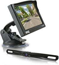 Pyle Backup Car Camera Rearview Monitor System - Parking & Reverse Assist with Waterproof and Night Vision Abilities, 4.7