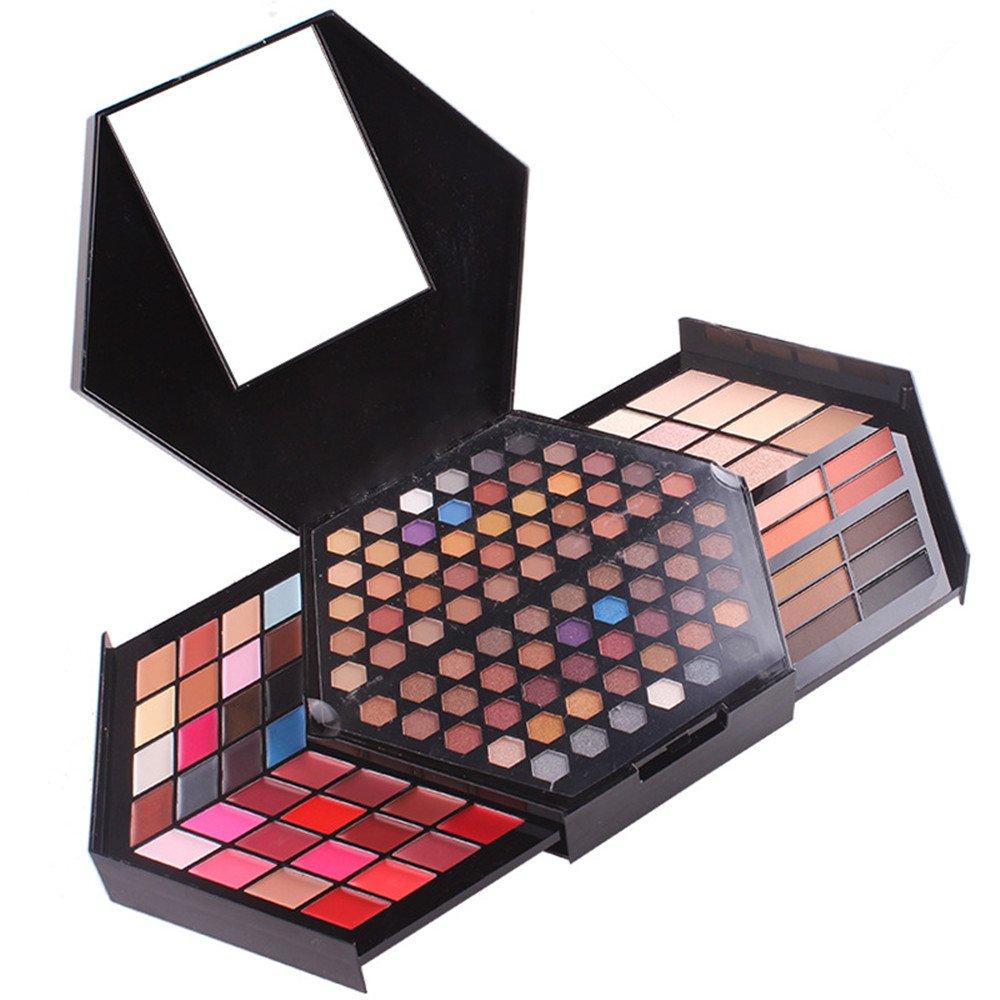 Pure Vie Pro 130 Charlotte Mall Colors Makeup Matte 88 Includes Shinny Palette Spasm price