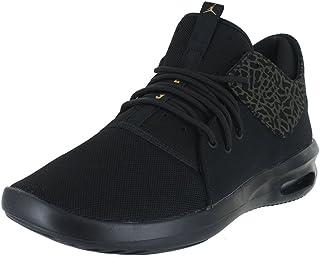 Jordan Mens AIR First Class Black Metallic Gold White Size 11