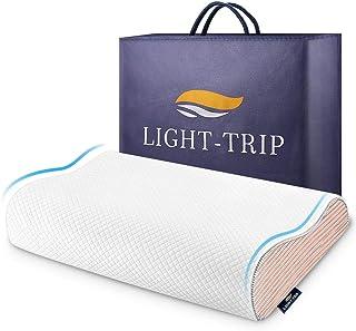 枕 まくら 低反発 通気性抜群 洗えるマクラ 50*30cm ホワイト