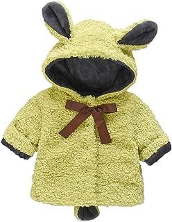 Hot! Baby Girls Hooded Warm Coats GoodLock Toddler Infant Winter Solid Windproof Coat Cartoon Rabbit Outwear Jackets