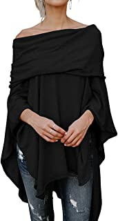Best off the shoulder poncho sweater Reviews