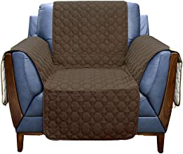 RBSC Home Sofa Cover 100% Waterproof Slipcovers Anti-Slip Couch Covers for Leather Armchair Slipcovers for Pets,Baby, Dogs...