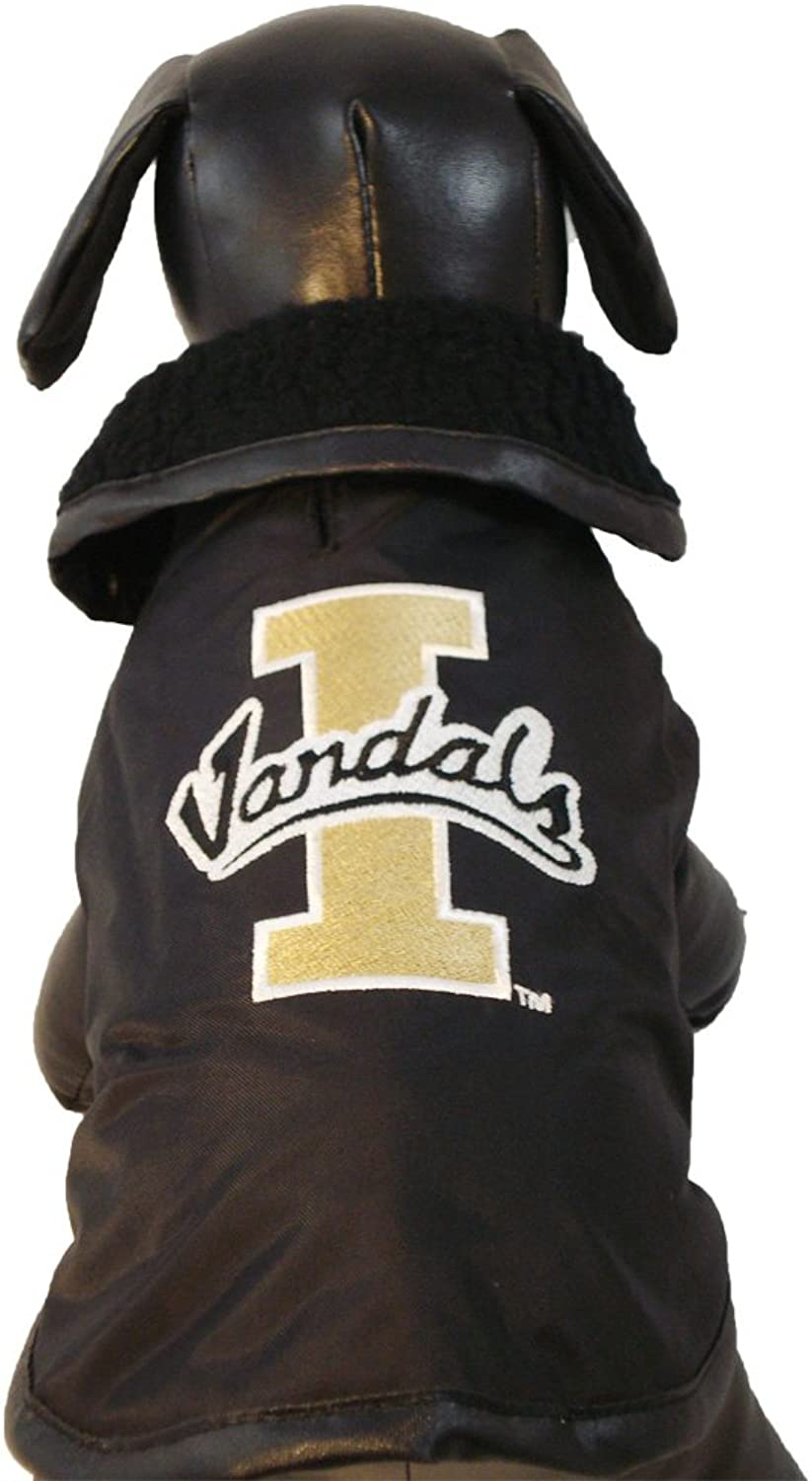 All Star Dogs Idaho Vandals All Weather Resistant Predective Dog Outerwear, XSmall