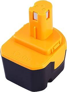 【Amazon限定ブランド】Reoben 互換リョービ BID-1230 バッテリー リョービ 12V バッテリー リョービ 互換バッテリー3000mAh(3.0Ah)リョービ b-1203c b-1203m1 b-1203f3 bpl-122...