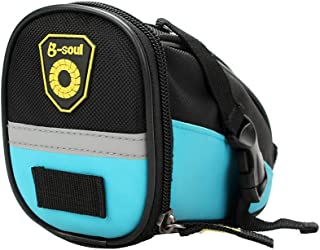 bulingbulingseason Mountain Bike Road Cycling Seatpost Mounted Storage Bag Bicycle Rear Saddle Pannier Bag Pouch