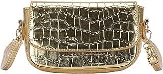 ARVALOLET Umhängetaschen, einzelne Umhängetaschen, Umhängetaschen, Mode und Freizeit All-Match-Retro-Krokodilmuster Schlan...
