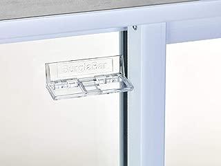 Burglabar  1 Piece - Great for Sliding Patio Door Lock, (Use 2 for doors), Sliding Window Lock, Sliding Basement Windows Lock, Child Safety Lock