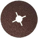 Bosch Professional 2608605474 2 608 605 474 Bosch DIY fibre lamelles (pour meuleuse d'angle différents matériaux, Ø 125mm), Rot, Size