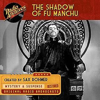 Shadow of Fu Manchu audiobook cover art