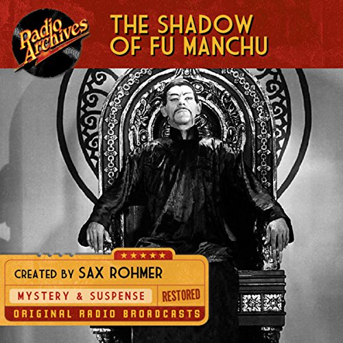 Shadow of Fu Manchu audiobook cover art