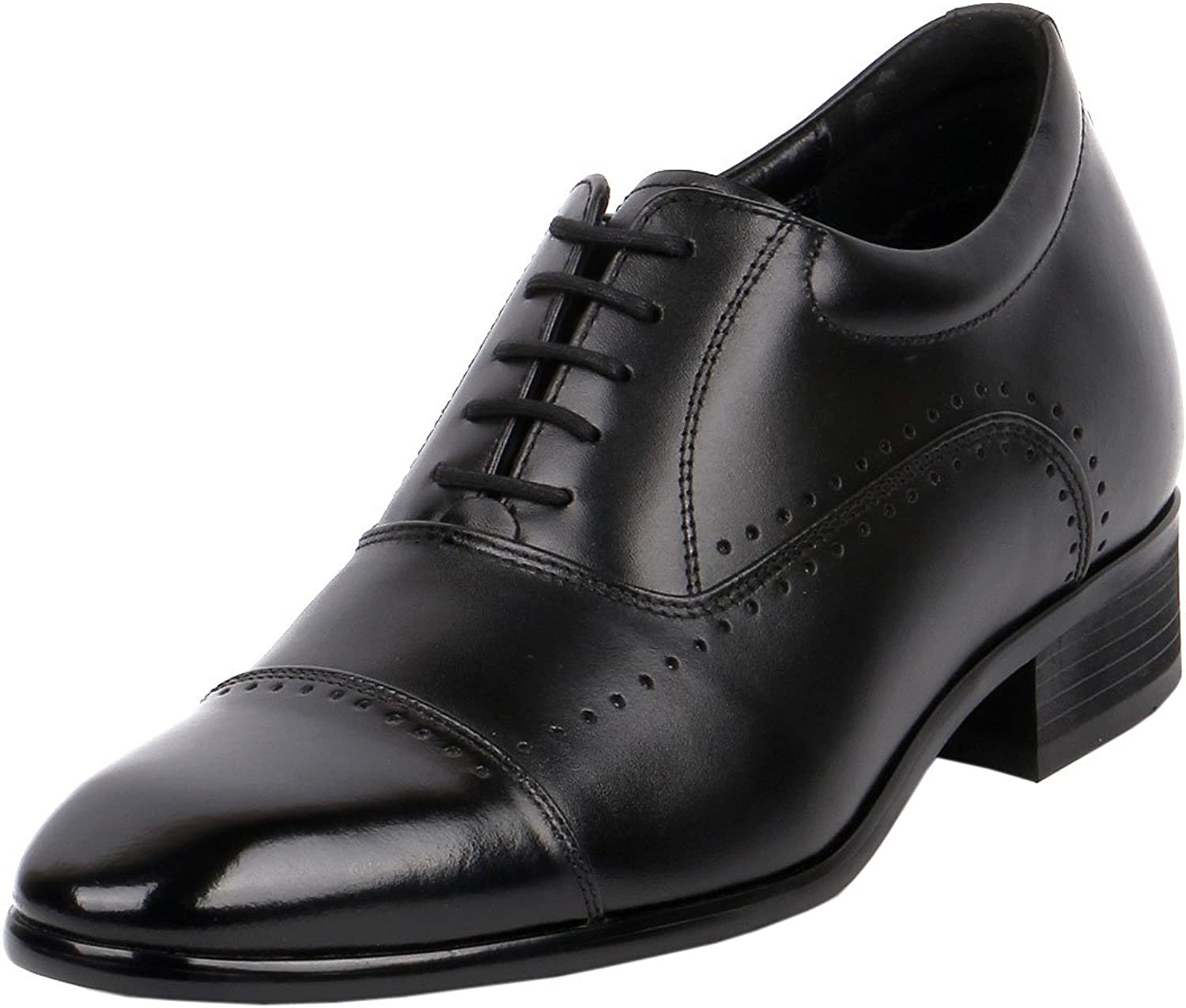 Height Increasing shoes Wide Feet shoes For Dress, Work and Formal, 2.8  Tall