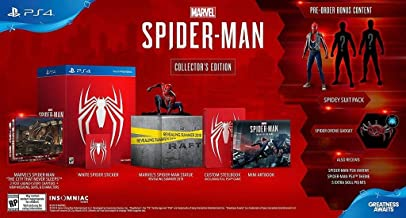 Marvel's Spider-Man Collector's Edition - PlayStation 4 (Console Not Included)