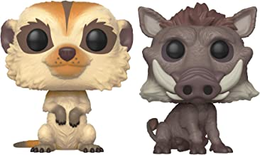 Funko Pop! Disney: Lion King Live Action - Timon and Pumbaa Set of 2 - in Bubble Pouches