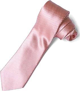 STEFANO RICCI (ステファノリッチ)ネクタイ 高級 ブランド イタリア ジャガードタイ 御洒落 メンズ 紳士服 ピンク ドット