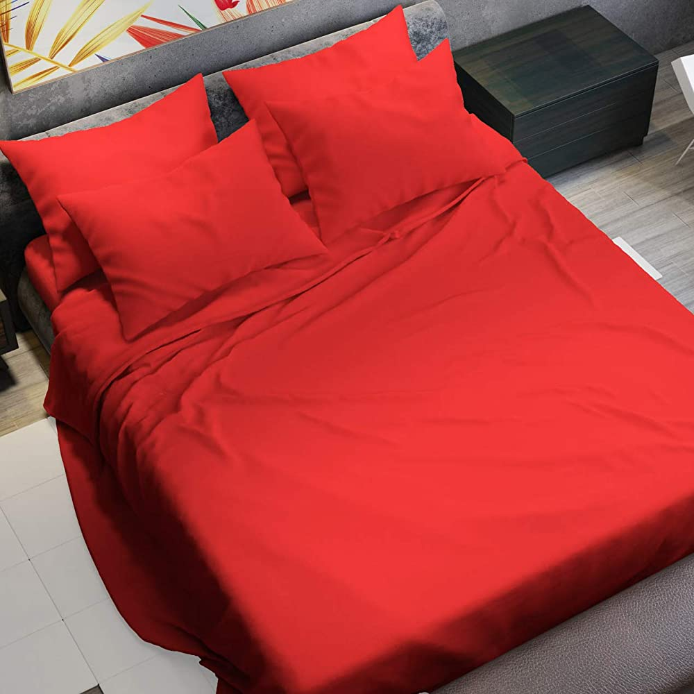 Petti artigiani italiani, set completo letto, lenzuola matrimoniali,100% cotone fibra naturale 8051739316001