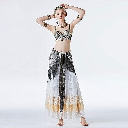CX Costume Danse du Ventre Femme Adulte Costume De Style Tribal Costume Sexy