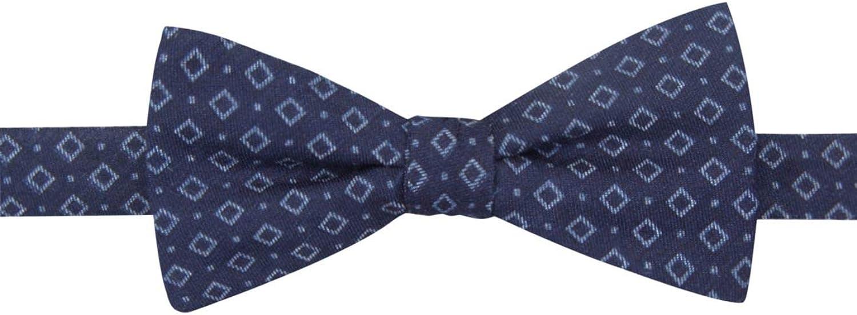Countess Mara Men's Denim Neat Pre-Tied Bow Tie, Navy, OS