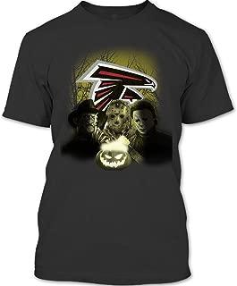 Atlanta Falcons Football Halloween T Shirt, The Stab Four Halloween Pumpkin T Shirt