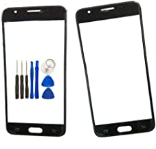 Screen Glass Panel Lens Replacement for Samsung On5 - Black Outer Front Screen Glass Panel Lens Replacement for Samsung On5 SM-G550FY G550T1 G5500 with Opening Tools (Not LCD &Not Digitizer)