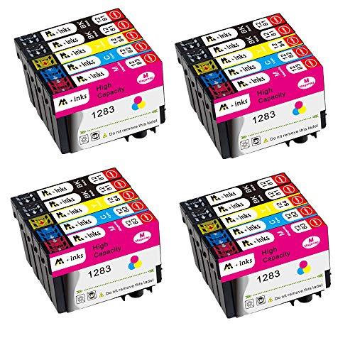 AA+inks Merotoner - Juego de 20 cartuchos de tinta para Epson T1281, T1282, T1283, T1284, T1285 con Epson Stylus S22, SX125, SX130, SX230, SX235W, SX420W, SX425W, SX430W, SX440W, SX45W BX35W 05FW.