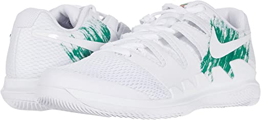 White/White/Clover/Gorge Green
