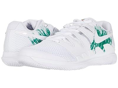 Nike Air Zoom Vapor X (White/White/Clover/Gorge Green) Men