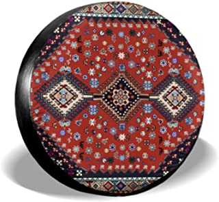 Chawzie Particlar Large Colorful Palace Spare Tire Tote Outdoor Tire Tote Tire Cover Waterproof Uv Sun 14 - 17 Fit for Jeep Trailer Rv SUV and Many Vehicle