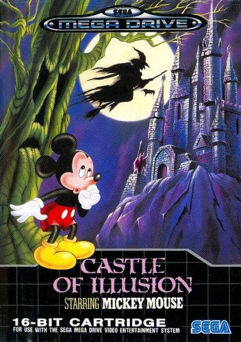 Castle of illusion starring Mickey Mouse - Megadrive - PAL