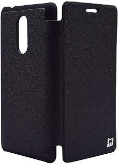 Flip Cover By HW For Lenovo K6 Note - BLACK