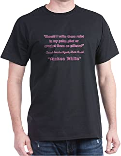 Yankee White T-Shirt Classic 100% Cotton T-Shirt