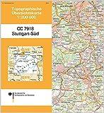 Stuttgart-Süd: Topographische Karte 1 : 200 000 CC7918 (Topographische Übersichtskarten 1:200000) - BKG - Bundesamt für Kartographie und Geodäsie