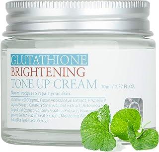 کرم APLB Glutathione Brightening Tone Up Cream 2.37FL.OZ / روشن کنندگی ، رطوبت هیدراته ، ایجاد پوستی الاستیک و جوان