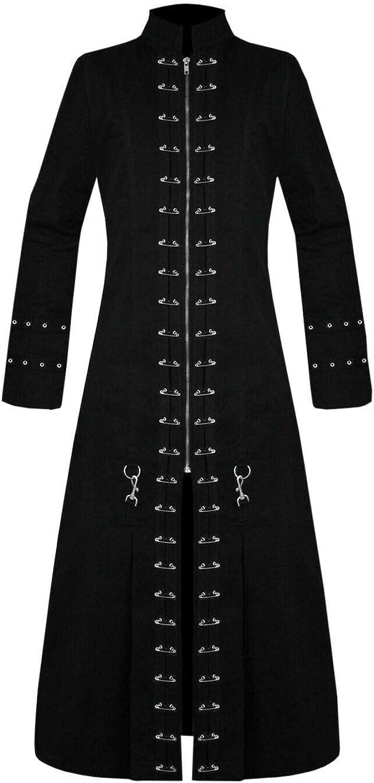 COCOBEE Men Black Spasm price Hell-Raiser Goth Pinhead Vampire T Jacket Punk NEW before selling ☆