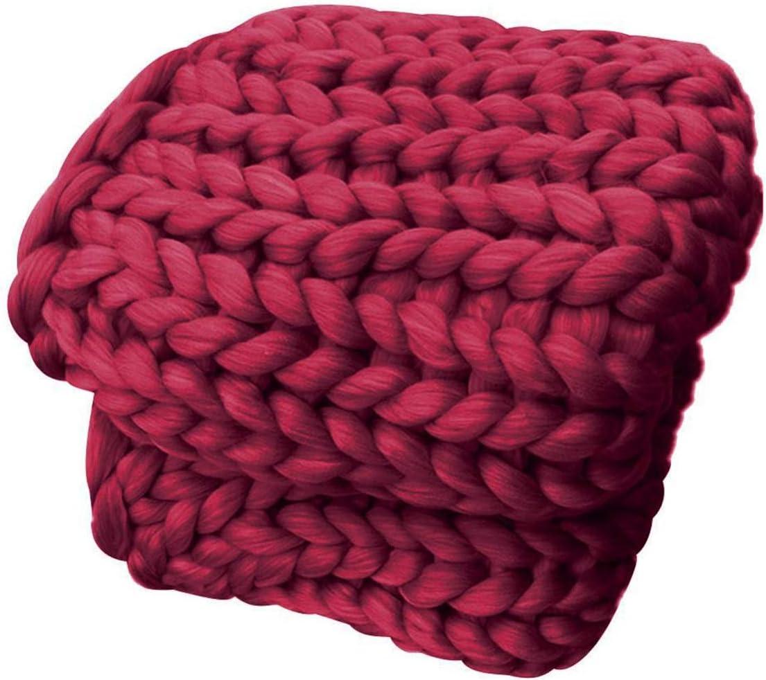 Superlatite YXYH Chunky Knit Las Vegas Mall Blanket Super Decorative Cozy for Soft