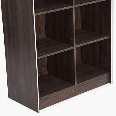 Home Centre Lewis Double Open Bookcase