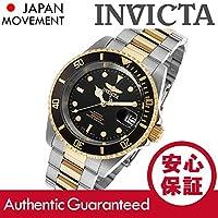 INVICTA (インヴィクタ) 8927OB Pro Diver/プロダイバー 自動巻き ブラックダイアル ゴールド×シルバー メタルベルト メンズウォッチ 腕時計 [並行輸入品]